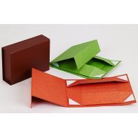 Cheap Black Handmake Paper Rigid Foldable Box for Packaging wholesale