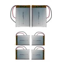 8.5mm Thickness Lithium Polymer Cells / 3.7 V Li Poly Battery For Tracking Device 3000mAh