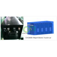 Rechargeable 72V Lithium Car Battery For Electric Vehicle / Electric Motorcycle