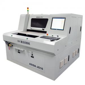 Buy cheap Ceramic / Glass UV Laser Cutting Machine Precise Control JG18 , Cutting Circuit Board from wholesalers