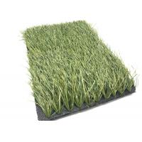 China Olive Green Football Fake Grass Anti - Slip , Synthetic Grass For Soccer Fields wholesale