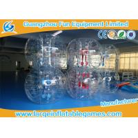 China Gaint Inflatable Bubble Ball Bumper Soccer Football With 0.7mm TPU Material wholesale