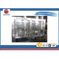 Plastic Bottle Carbonated Drinks Filling Machine PLC + Touch Screen 13KW 220V / 380V