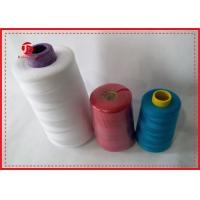 100% Polyester High Tenacity Sewing Thread 40/2 Polyester Spun Yarn For Dyeing
