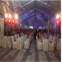 Cheap Aluminum Frame PVC Canvas Prefabricated Wedding Banquet House (ML-169) Lighting Roof house wholesale