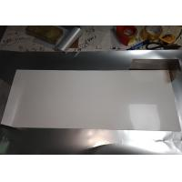 Stable Size White PET Reflective Film , High Gloss White Film For Light Source Reflection