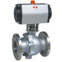 8' Electric Operation full Opeing Material A216 Gr WCB Ball Valve Flange Connection