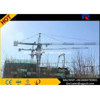 Hammerhead Tower Crane Lifting Height 206m Air Conditioner Operation Cab