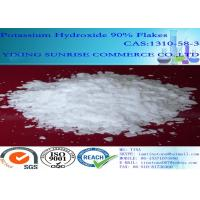 China Pharmaceutical Intermediates White Potassium Hydroxide Flakes Solid CAS 1310-58-3 wholesale