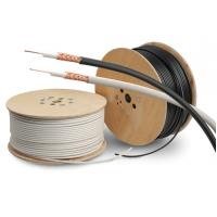 China PVC Sheath Copper Coaxial Cable RG59/U Type Cctv Coaxial Cable PE Dielectric wholesale
