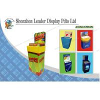 Cheap Supermarkets POS Display Stands / Strong Cardboard Book Stand wholesale
