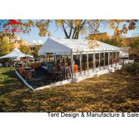 China Chinese factory sale  luxury waterproof pvc party tent with glass wall wholesale