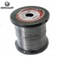 China Ni80Cr20 0.07 - 0.1mm High Voltage Ignition Cable With  High Resistivity wholesale