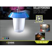 Cheap Portable LED Solar Camping Lantern Light , IP54 Waterproof solar tent lights wholesale