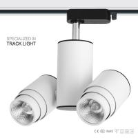 Cheap special design 2*8w double heads COB business led track lighting wholesale