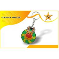 Cheap PVC Colorful Promotional Keychains With Free Sample Charge wholesale