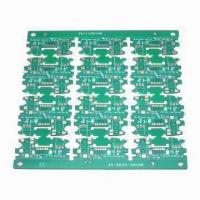Cheap FR4 1.2mm 2-layer PCB with 1/1oz Copper Thickness and Chem Ni/Au Surface Treatment wholesale