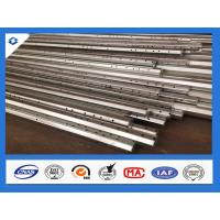China 25FT 2.5mm Thick Philippines Standard Hot Dip Galvanized Steel Pole wholesale