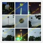 2M Inflatable Advertising Helium Balloon For Promotional , Grand Opening and Exhibitions