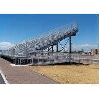 Quality Customized Aluminum Outdoor Bleachers For Horse Show / Motor Race for sale