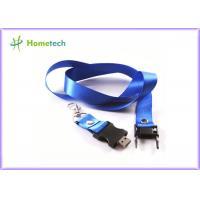 Cheap Blue color 4GB/ 8GB Weave belt and plastic Lanyard USB Flash Driver 2.0 , black color USB Key 2.0 wholesale