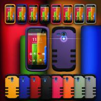 Cheap PC Hard Outer Shell Hybrid Protective Cell Phone Cases For Moto G wholesale