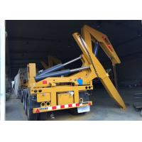 Wholesale Side Lifter 3 Axles Semi Trailer Truck Lift / Carry 20ft 40ft Container from china suppliers