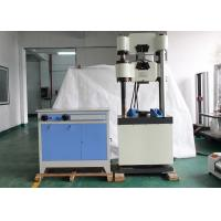 Buy cheap Electronic Hydraulic Universal Tensile Tester For Torque / Compression Test from wholesalers