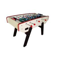 China 5FT Senior Football Table Wood Game Table With Metal Player Telescopic Rods wholesale