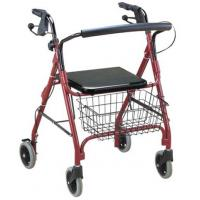 Four Wheel Rollator with Fold Up Removable Back Support standard