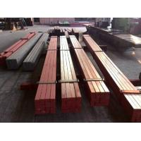 Buy cheap 50*30 Smooth Surface Leaf Steel Crane Rail / Crane Square Billet Flat Bar from wholesalers