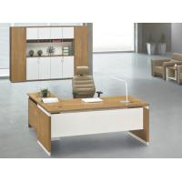 modern wood office manager desk Foshan furniture in stock
