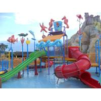 Buy cheap Comfortable Safe Aqua Park Design With Stainless Steel Fastener / Fiberglass Flume from wholesalers