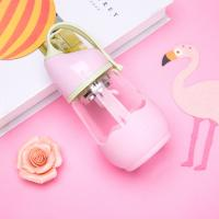 Eco Friendly Baby Bottles Glass , Cute 360ml Anti Colic Baby Bottles PP Lid