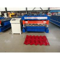 Buy cheap 5.5kw Glazed Tile Forming Machine , High Speed Roof Tile Manufacturing Machine from wholesalers