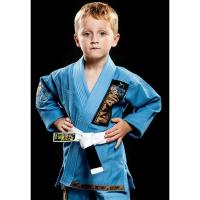 Cheap Fashion Blue Brazilian Jiu jitsu kimono Martial Arts Suit Childrens Sportswear wholesale