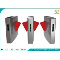 Retractable Turnstile Entry Systems Card Reader Flap Barrier Gate