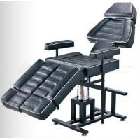 Cheap Professional Adjustable Leather Tattoo Bed Medical Supplies Black Color wholesale
