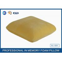 Adults Healthy Memory Foam Throw Pillow / Back Cushion For Car / Home And Office