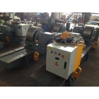 200 Ton Bolt Adjustment Tank Turning Rolls With Metal Roller / HGK Pipe Rollers For Welding