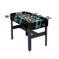 China Metal Goal 4FT Football Game Table With Color Graphics Design Multicolor Players wholesale