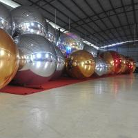 Buy cheap 1.5m Sliver Inflatable Mirror Ball / Custom Inflatable Advertising Air Balloons from wholesalers