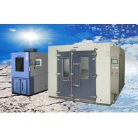 Larger Volume Electroplated SUS304 Walk-in Climatic Test Chamber / Rooms