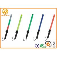 Portable LED Traffic Baton , ABS Handle Rechargeable Flashlight Traffic Wands