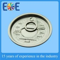 Cheap Vacuum Seal Metal Canned Food Lids , 65mm Full Open  Easy Open Lid wholesale