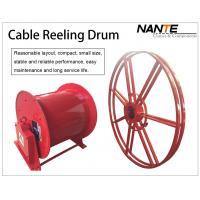 Buy cheap Cable Reeling Drum With Red Surface And 380v/440v Voltage Multi-specification from wholesalers