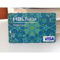 China Plastic Debit Card / VISA Smart Card with Secured VISA Hologram Label wholesale