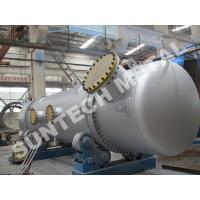 Wholesale 316L Double Tube Sheet Heat Exchanger for Chemical Processing Plant from china suppliers