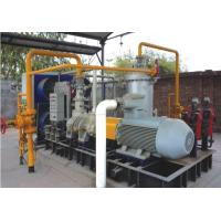 Cheap Water Injected Nature / Flammable Gas Screw Compressor ,Suction pressure 0.25 MPa, Discharge Pressure 1.0 MPa wholesale
