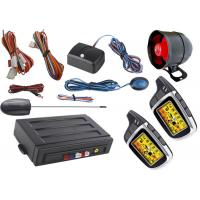 Electric Car Starter Auto Car Alarm System With Auto Window Rolling Up Negative Output